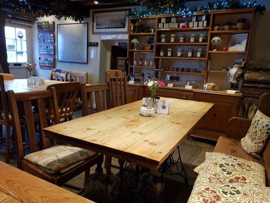 Dent, UK: Inside the cafe