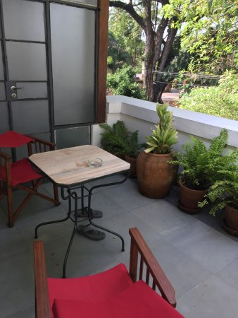 Room 9, private terrace, open aspect overlooking Parade Ground