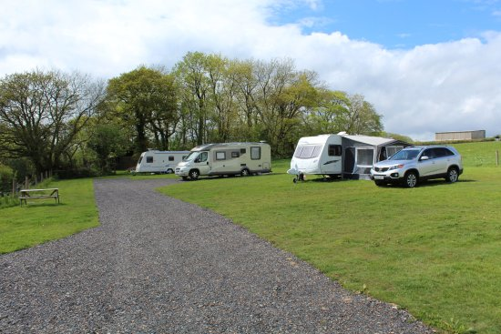 Ashwater, UK: We have a small 5-van touring caravan site