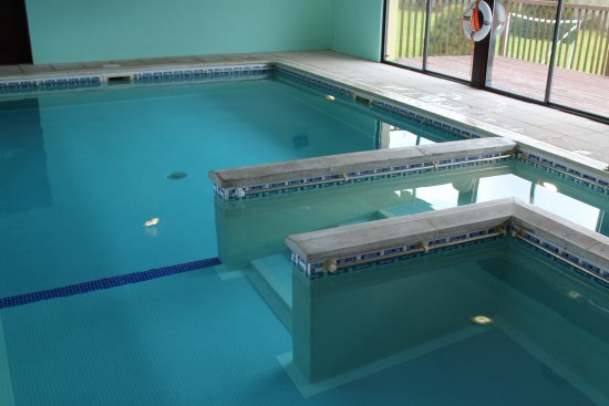 Ashwater, UK: Our swimming pool is open seasonally - Easter to end of October
