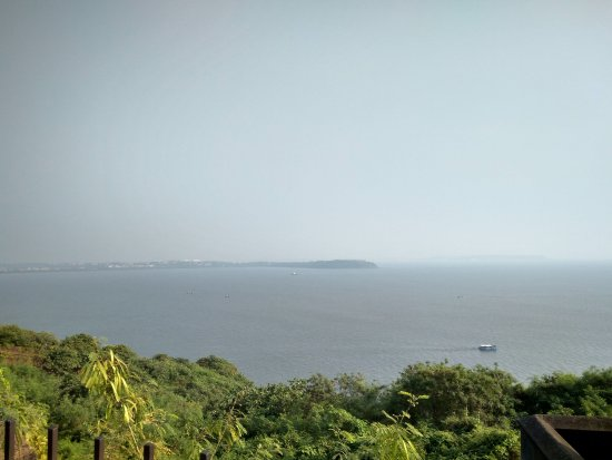 Sinquerim, India: View from the top of the fort