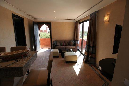 Les Jardins de Zyriab Resort & Spa: Salon Suite Junior