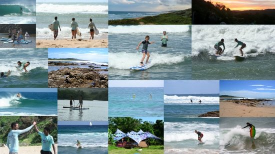 Umzumbe, Güney Afrika: Lots of fun things to do, learn 2 surf, sup and yoga
