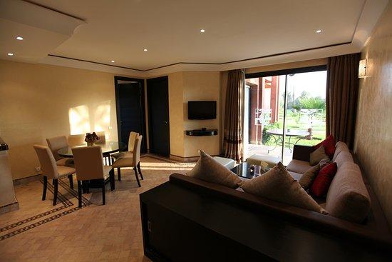 Les Jardins de Zyriab Resort & Spa: Salon Suite Senior