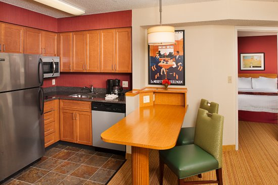 All suites at Residence Inn Tysons Corner Mall include a full kitchen
