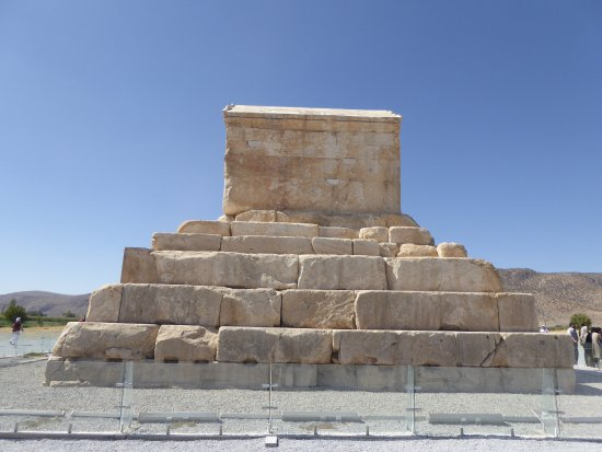 Pasargadae tomb of Cyrus the Great