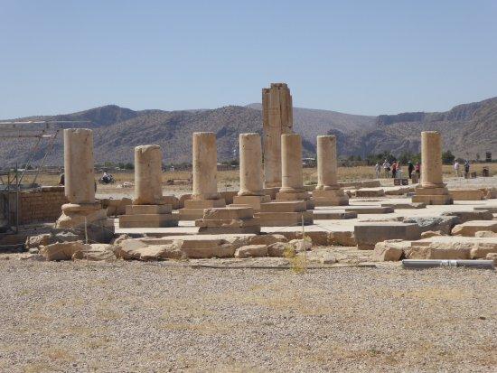 Pasargadae ruined palace