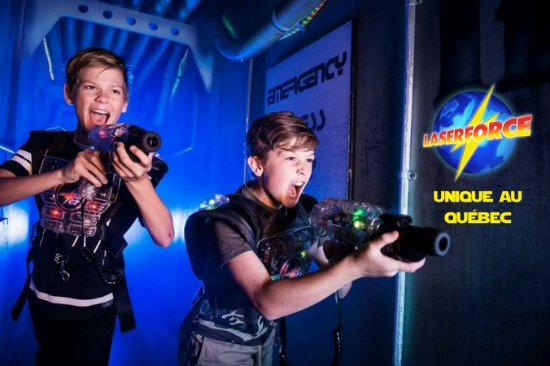 Laser Force Drummondville