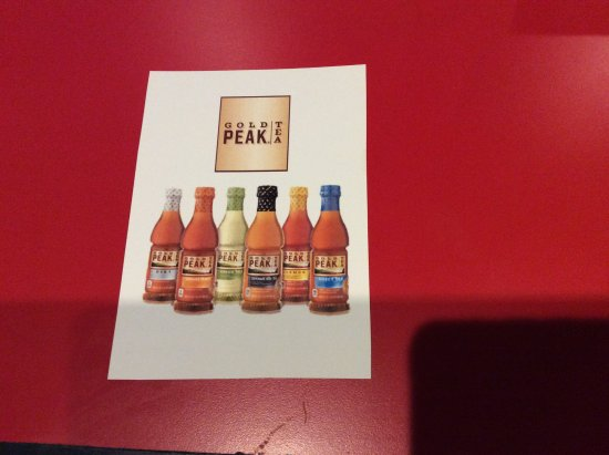 Warsaw, NY: Gold peak Ice tea