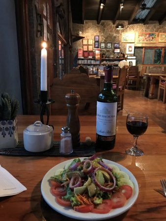 Posada de Santiago: Beautiful, fresh meals.