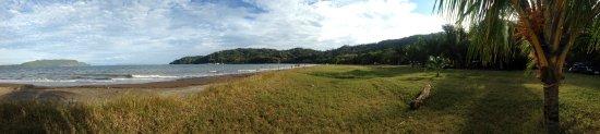 Tambor, คอสตาริกา: Panorama of the beach