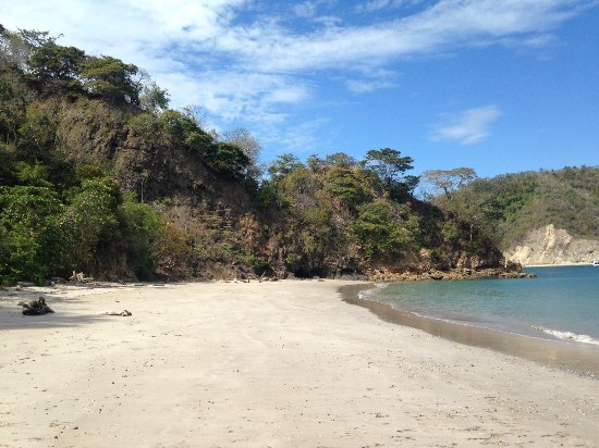 Tambor, คอสตาริกา: This is a beach on Isla Tortua, would really recommend it!