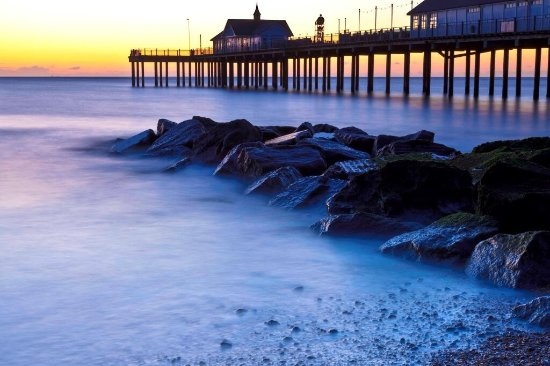 Southwold, UK: The Pier at Dawn