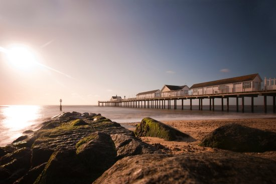 Southwold, UK: The Pier in the Sunshine