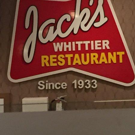 Jack's Whittier Restaurant