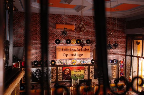 Le Coin Design open stage - picture of cafe/restaurant le coin, marrakech - tripadvisor