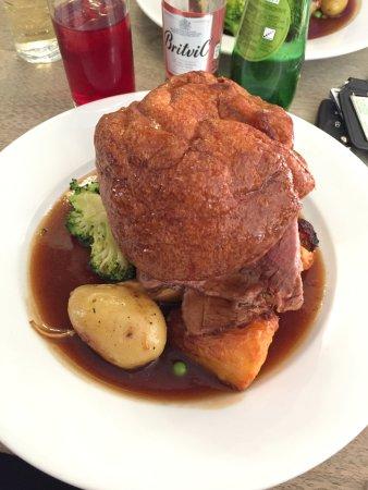 Snettisham, UK: A generous portion!