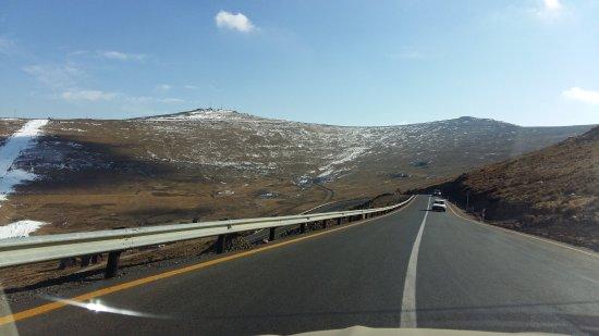 Butha-Buthe, Lesotho: Jus as u arrive in Afriski