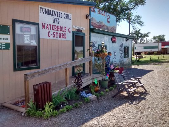 Texola, OK: Quaint Grill
