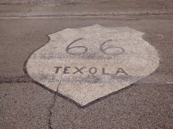 Texola, OK: On 66