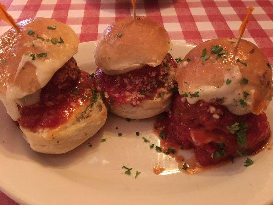 Joeys Garlic's: Meatball Sliders