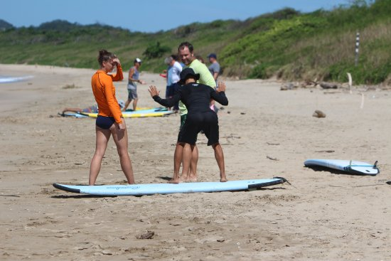 Playa Grande, Costa Rica: Surf lessons with JJ
