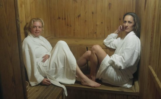 Netanya, İsrail: rendezvous at the spa