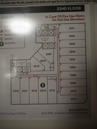 Floorplan For 22nd Floor Picture Of Embassy Suites By Hilton Niagara Falls Fallsview Hotel Tripadvisor