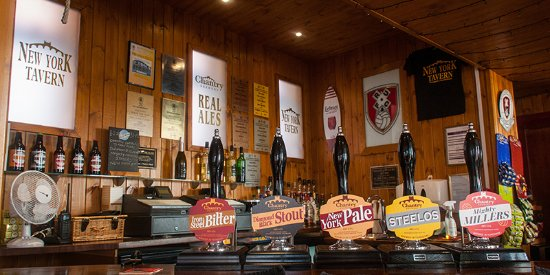 New York Tavern: 10 Cask Ales and 2 Real Ciders always on