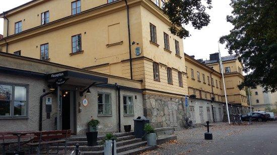 STF af Chapman & Skeppsholmen Hostel : Eingang