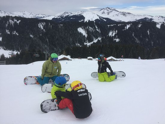 Switch Riders Snowboard Club Sessions Always Laid Back And