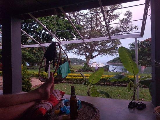 Mangochi, Malaui: view from room 1