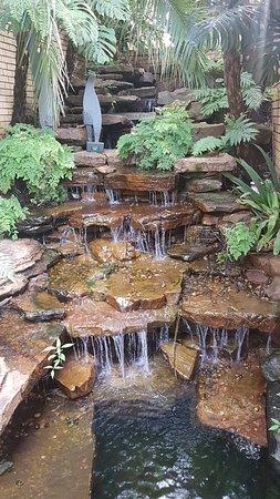 Kloof, Zuid-Afrika: water feature