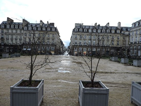 Parlement de Bretagne: Parlamento de Bretaña, Rennes, Francia.