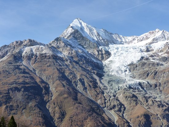Randa, Ελβετία: La vue de la passerelle
