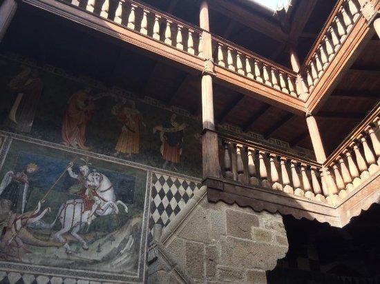 Fenis, Italien: Interno del castello