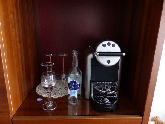 Belvedere Strandhotel & Restaurant: top machine