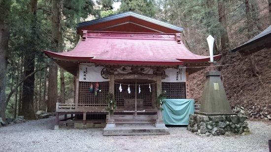 Uenohara, Japan: 軍刀利神社拝殿