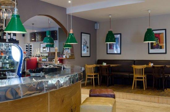 Bexhill-on-Sea, UK: Restaurant floor