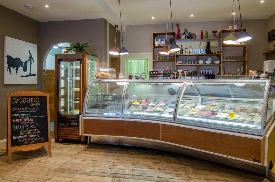 Bexhill-on-Sea, UK: Gelato bar