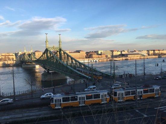 ริงอเวนิว อพาร์ทเมนท์ส บูดาเปสท์: utsikt från Gellert