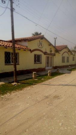 Valle Hermoso, Argentina: frente de la hosteria