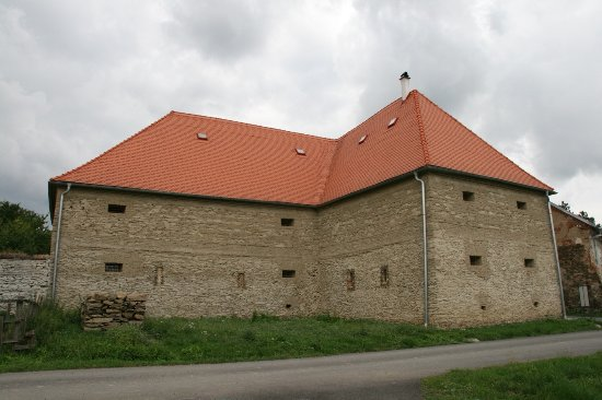 Baroque granary  Ludéřov