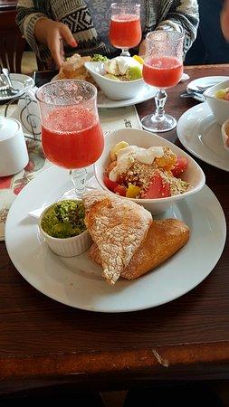 Exquisito desayuno