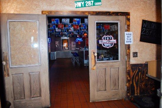 Dumas, TX: Entrance