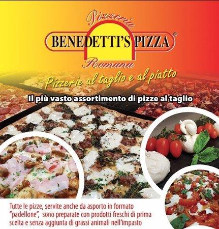 Bastia Umbra, İtalya: Benedetti's Pizza