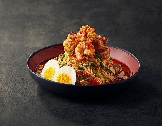 Kemptville, Canada: Crispy Shrimp Noodle Bowl