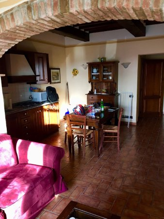 Acquaviva di Montepulciano, Italia: View of the Agriturismo Winery