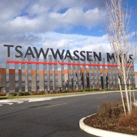 Linda fachada do Tsawwassen Mills - Delta,BC