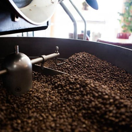 Travelers Rest, SC: roasting coffee